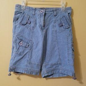 Style & Co Petite Denim Shorts 10P
